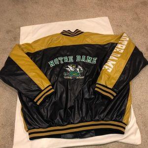 Steve & Barrys's Notre Dame jacket!